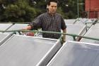Mexicano Crea Calentadores solares para albercas